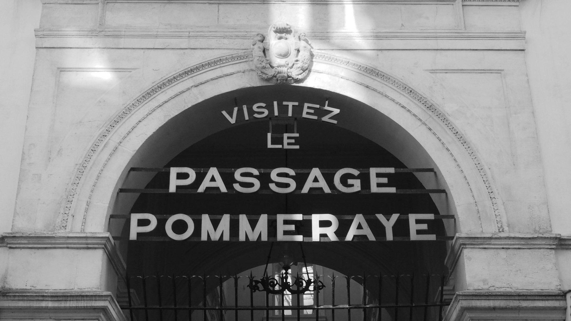Nantes entrée du passage pommeraye
